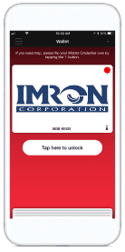 IMRON Mobile Credential